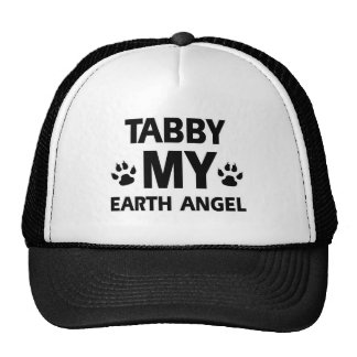 TABBY CAT DESIGN CAP