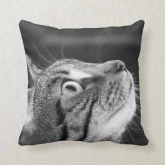 Tabby Cat in Profile Cushion