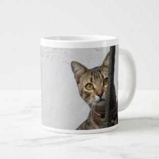 Tabby Cat Jumbo Mug