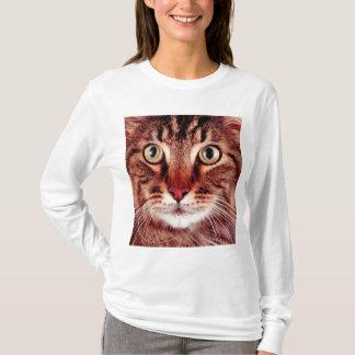 Tabby Cat Photograph Design T-shirt