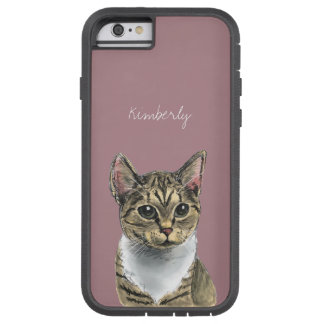 Tabby Cat With Big Eyes Tough Xtreme iPhone 6 Case