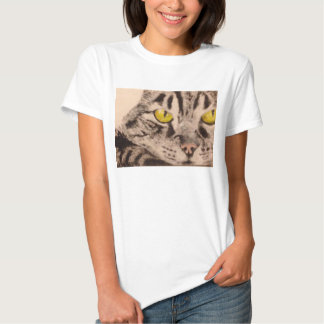 Tabby Cat Women's Tee Shirt