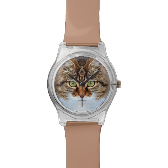 Tabby Cat Wristwatch