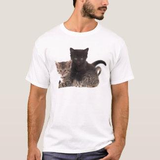 tabby kitten black kitten T-Shirt