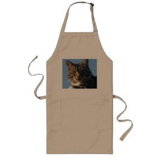 Tabby Kitten - Long Apron