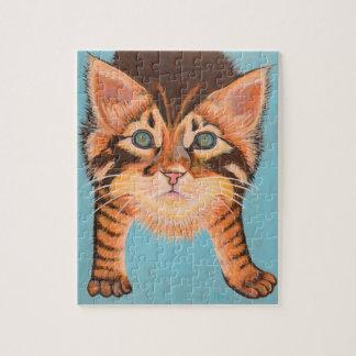 Tabby Kitten Puzzle 8 x 10