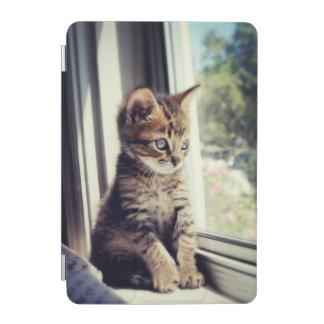 Tabby Kitten Watching iPad Mini Cover