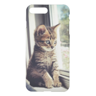 Tabby Kitten Watching Out Window iPhone 8 Plus/7 Plus Case