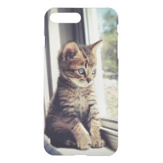 Tabby Kitten Watching Out Window iPhone 8 Plus/7 Plus Case