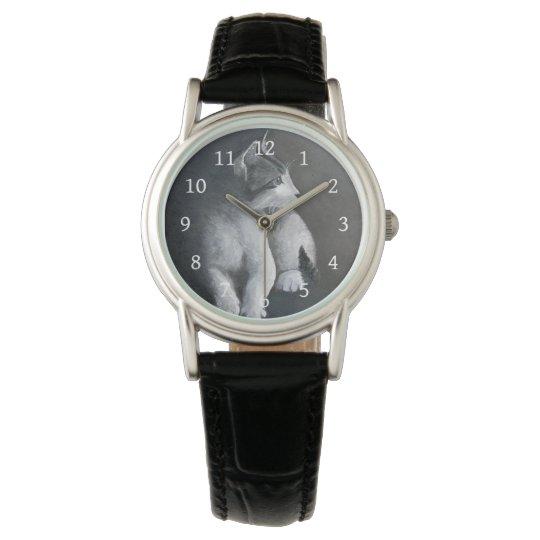 Tabby Kitten Wrist Watch