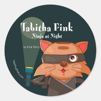 Tabitha Fink Ninja Stickers
