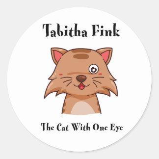 Tabitha Fink Round Sticker