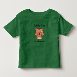 Tabitha Fink: The Cat With One Eye Toddler T-Shirt
