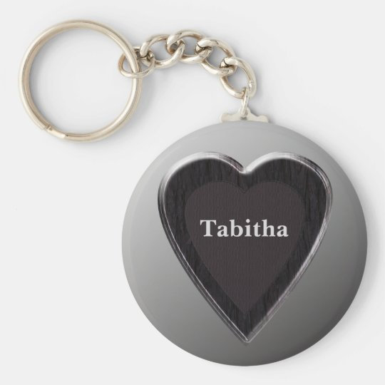 Tabitha Heart Keychain