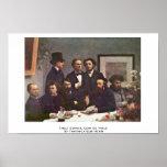 Table Corner, Coin De Table By Fantin-Latour Henri Posters