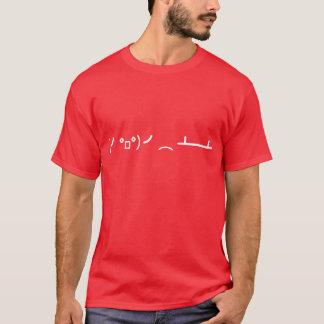 Table Flip Flipping Ascii Emoticon T-Shirt