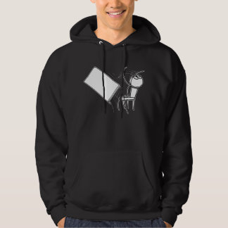 Table Flip Flipping Rage Face Meme Hoodie