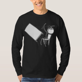 Table Flip Flipping Rage Face Meme T-shirts