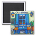 Table for Two in Greece Magnet Magnet