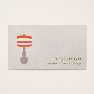 Table Lamp Lighting Business Card