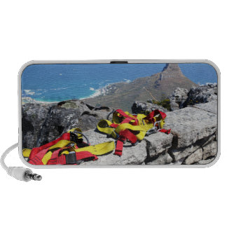 Table Mountain Abseil Travelling Speaker