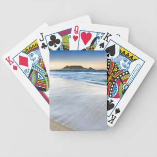 Table Mountain Across Table Bay Bicycle Playing Cards