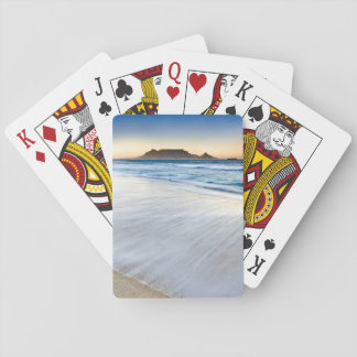 Table Mountain Across Table Bay Playing Cards