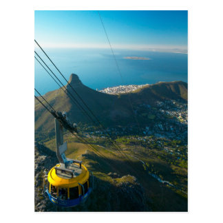 Table Mountain Cable Car, Cape Town Postcard