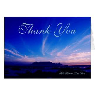 Table Mountain Cape Town RSA Card