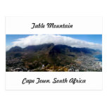 Table Mountain, Cape Town, South Africa Post Card