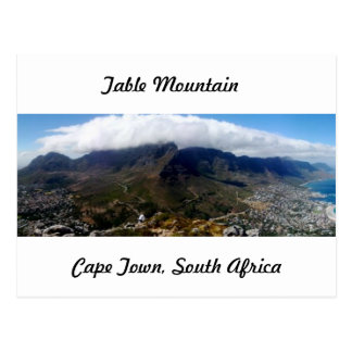 Table Mountain, Cape Town, South Africa Postcard