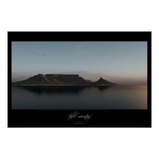 table mountain poster