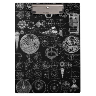 Table of Astronomy Clipboard