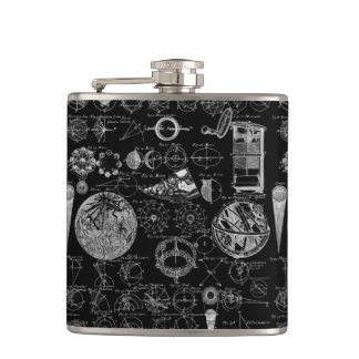 Table of Astronomy Hip Flask