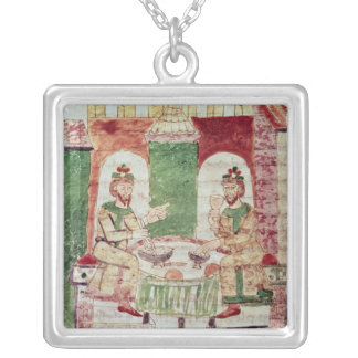 Table of the Rich, from 'De Universo' by Silver Plated Necklace