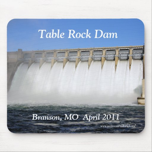 Table Rock Dam Branson Mousepad-customize