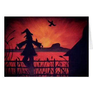 Table Rock Scarecrow Card