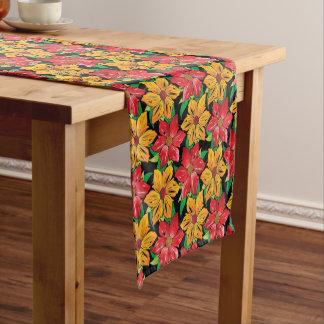 Table Runner-Bold Flowers Short Table Runner