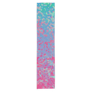 Table Runner Colorful Corroded Background