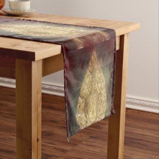 table runner golden buddha