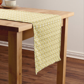 Table runner of 35.5 cm X 183 cm Pattern Gold