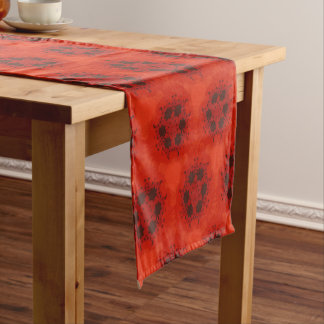 Table runner of 35.5 cm X 183 cm Poppy