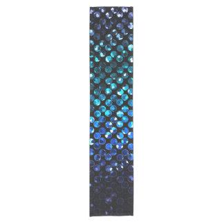 Table Runner Purple Crystal Bling Strass