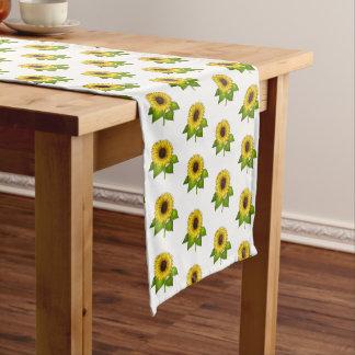 Table Runner-Sunflowers Short Table Runner