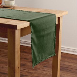 Table Runner uni Green Large