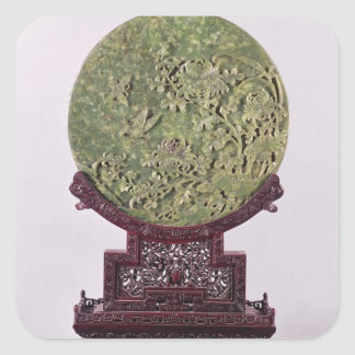 Table screen, Chinese, 18th century Stickers
