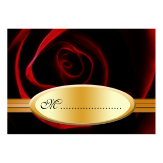 Table Seating Card Roses Are Red Pack Of Chubby Business Cards