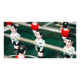 Table soccer photo cards