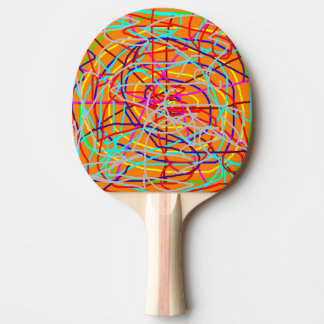 TABLE TENNIS BAT / PADDLE - ABSTRACT
