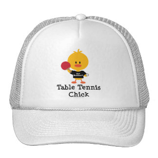 Table Tennis Chick Hat